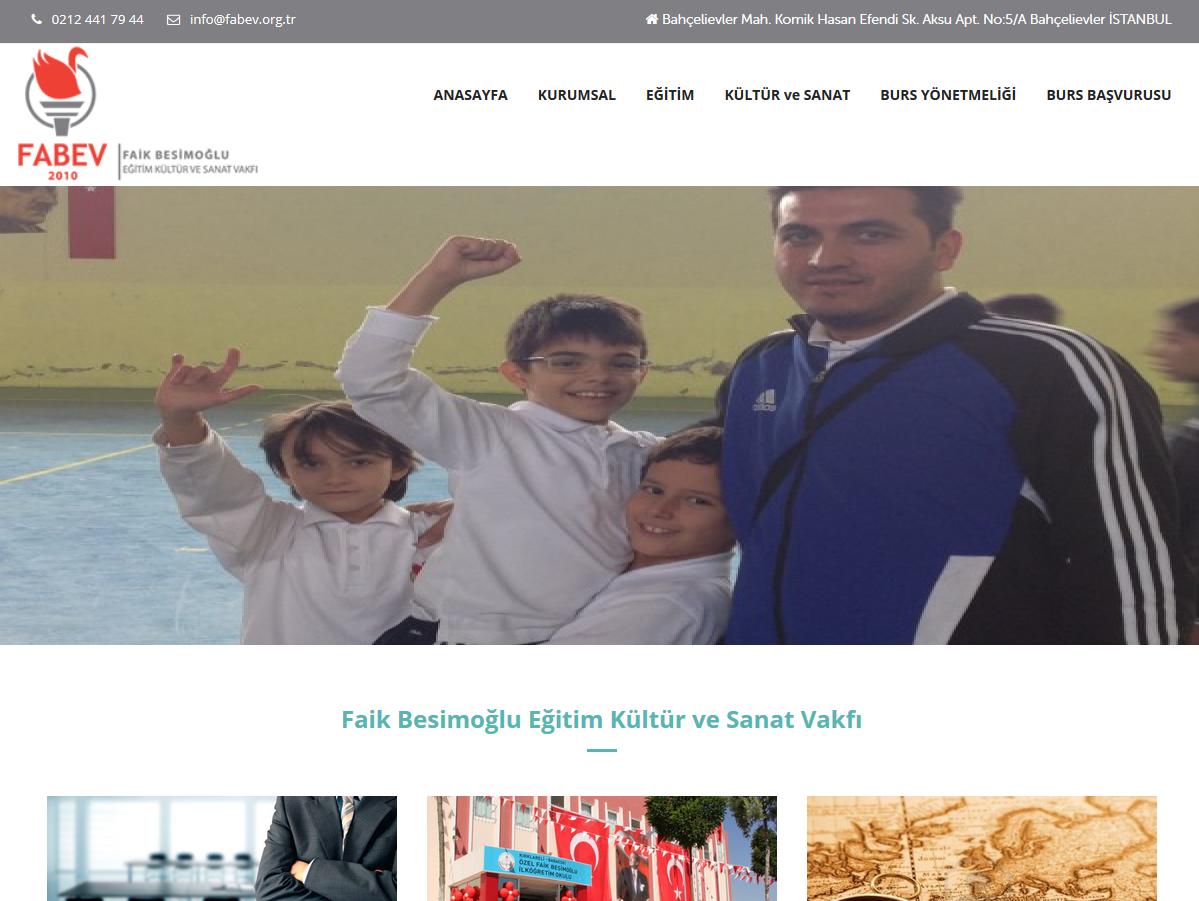 Yeni Web Sayfamız Yayında